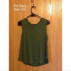 Old Navy - green tank top